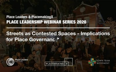 PlacemakingX Webinar – Placemaking and Resilience